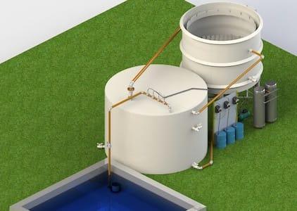 Estação de Tratamento de Água de Reúso ou Cinza