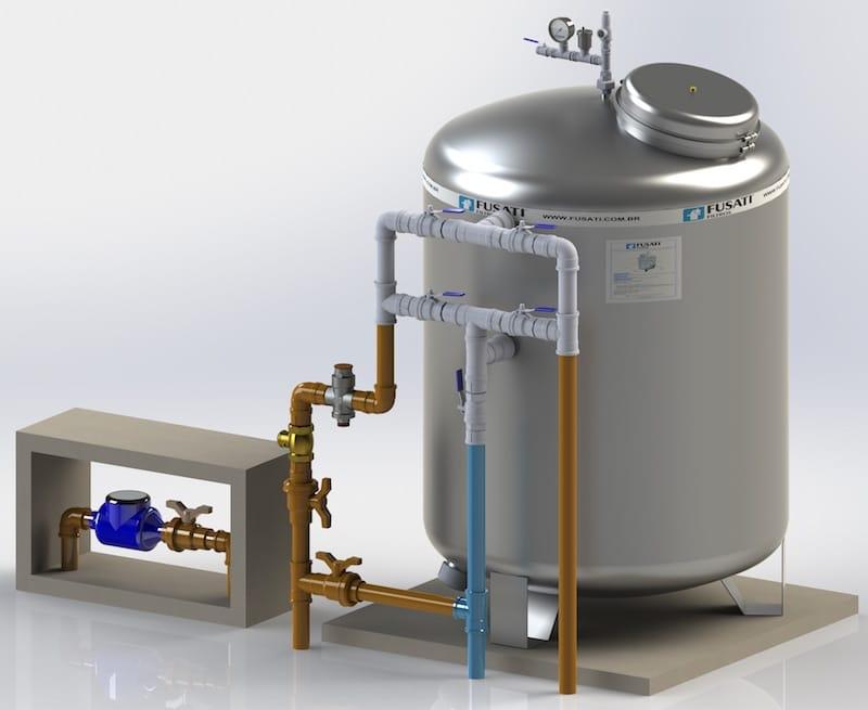 Filtro de Água para Indústria e Condomínio Filtro Central: Água Pura para Condomínio Vertical, Horizontal e Processos Industriais