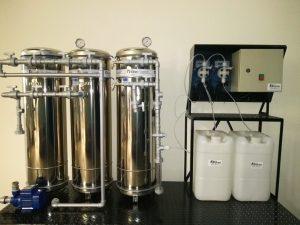Sistema de tratamento de Água de Poço Artesiano