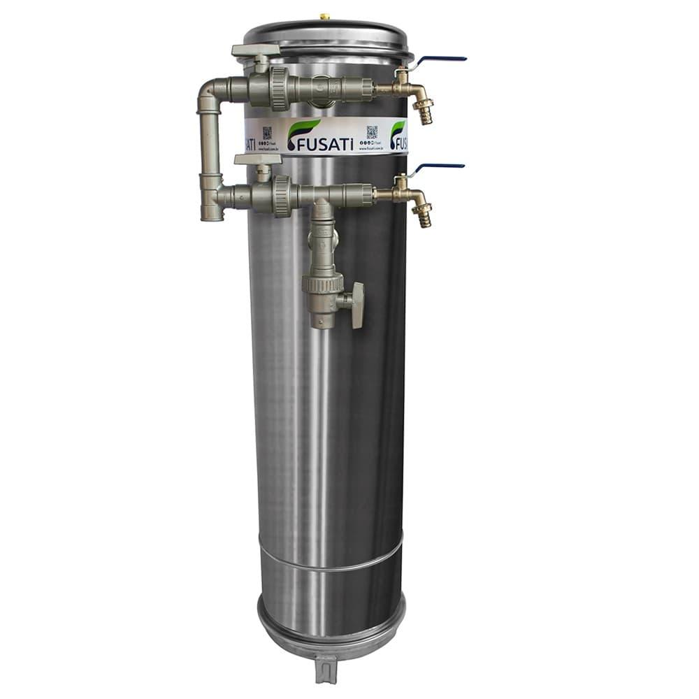 Filtro de Água Atlântico. Atende residências com vazão de 1000 a 1500 Litros por Hora