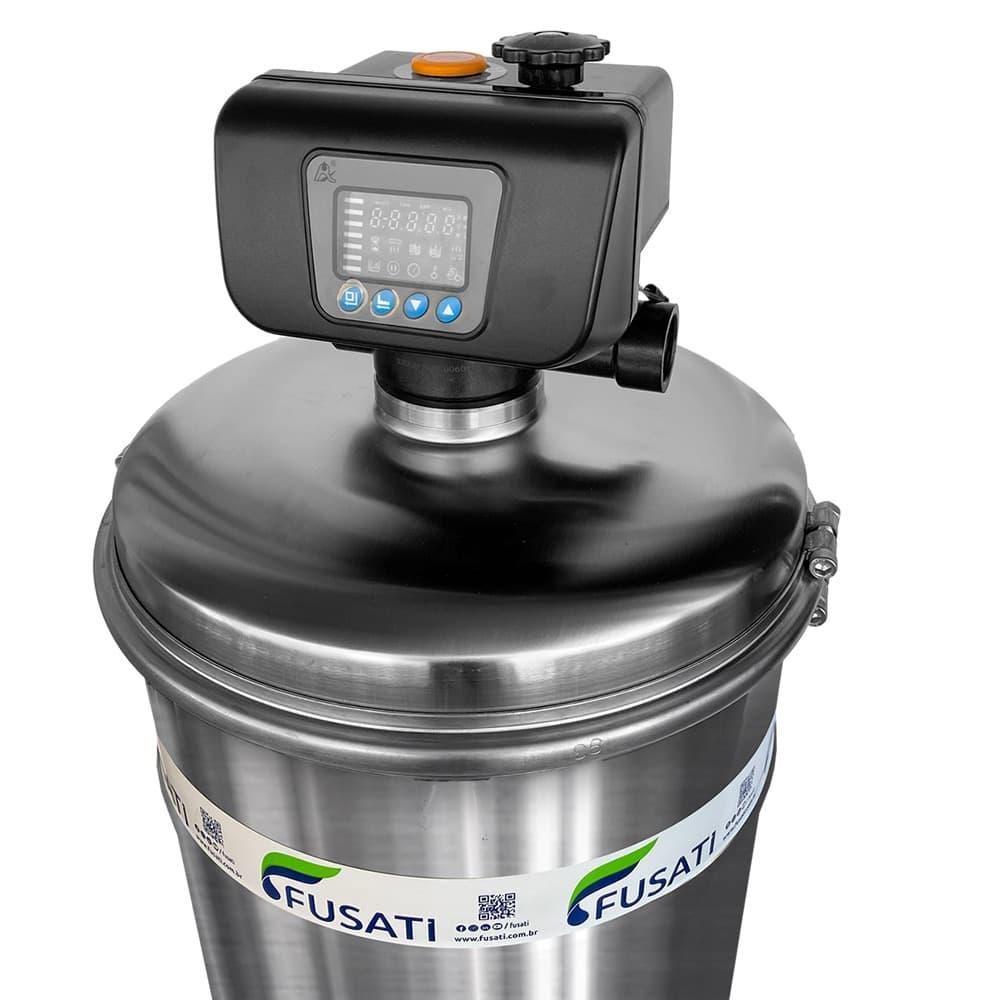 Filtro de Água Pacífico Autolimpeza Automática tenciosamente, Atende residências com vazão de 1000 a 2000 Litros por Hora